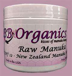 BB Organics Raw Manuka 4 oz