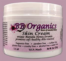 BB Organics Skin Cream 8 oz