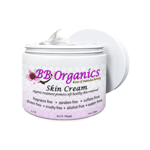 BB Organics 8oz Manuka Honey Skin Cream